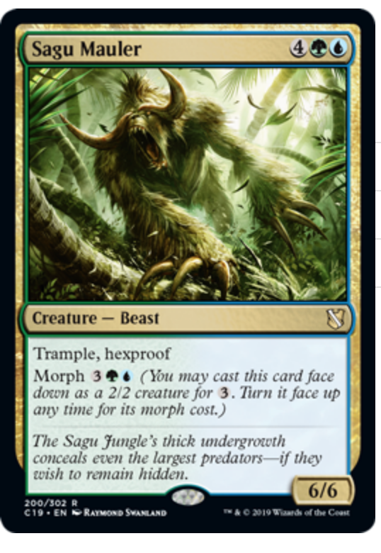 More Magic The Gathering Commander 2019 New Amp Reprinted Cards Revealed