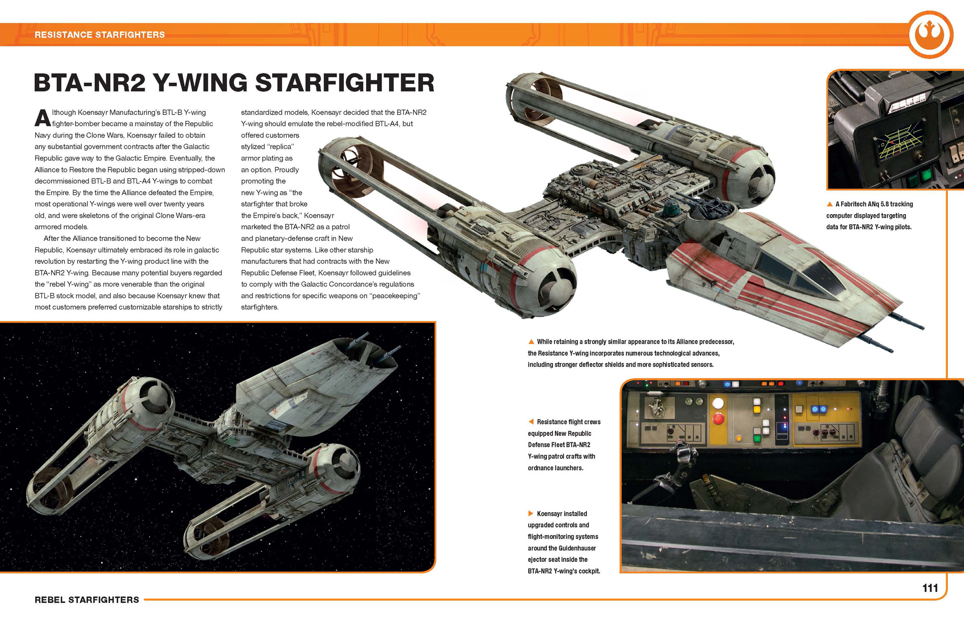 The Rise Of Skywalker The Y Wing In The Film Is Confirmed To Be An Upgraded Model