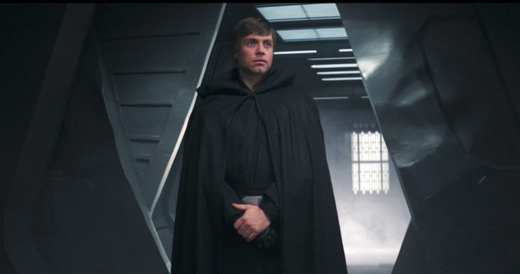 Luke Skywalker's epic return in The Mandalorian.