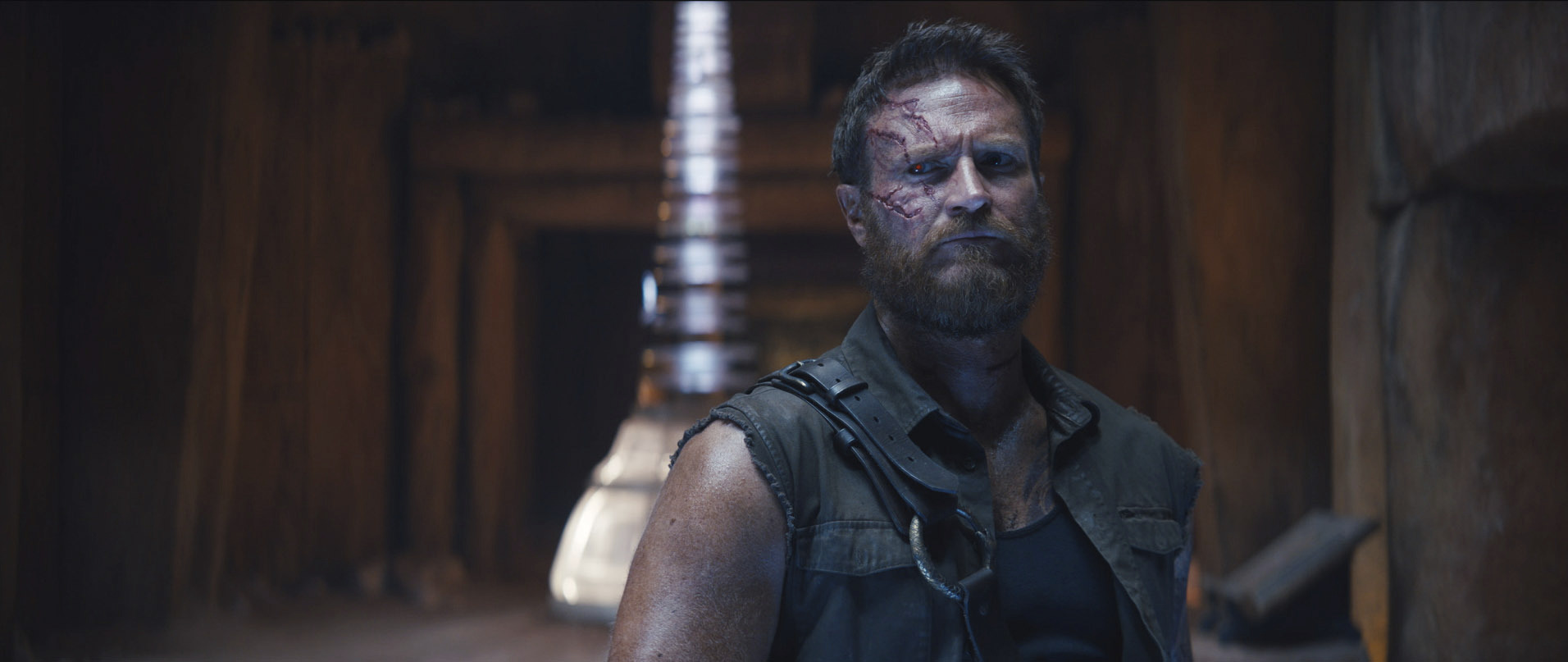"JOSH LAWSON as Kanoin New Line Cinema's action adventure ""Mortal Kombat,"" a Warner Bros. Pictures release."