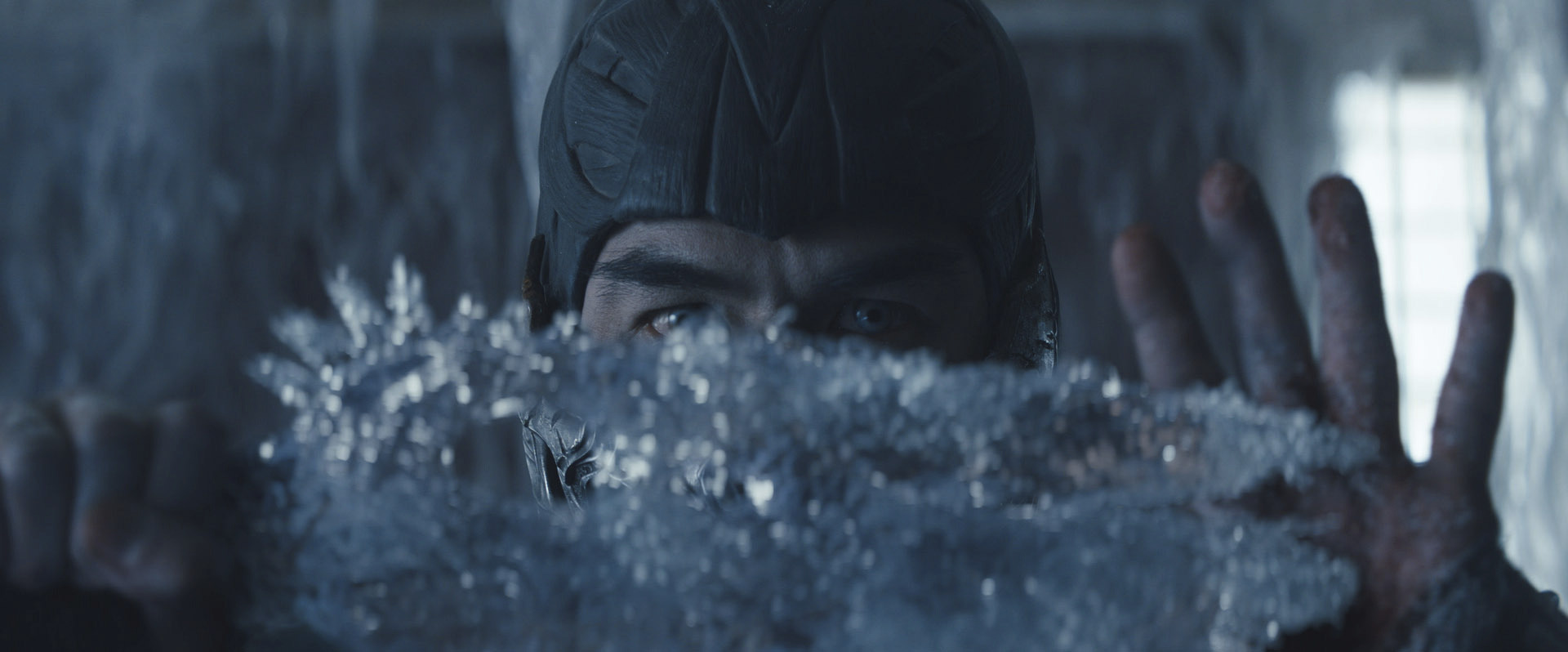 "JOE TASLIM as Sub-Zero/Bi-Hanin New Line Cinema's action adventure ""Mortal Kombat,"" a Warner Bros. Pictures release."