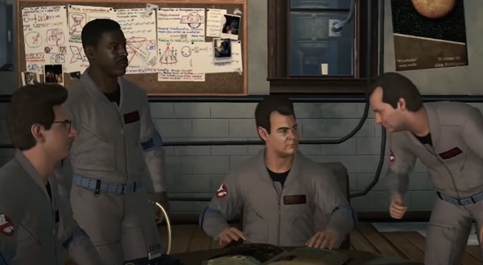 Ghostbusters The Video Game Cast