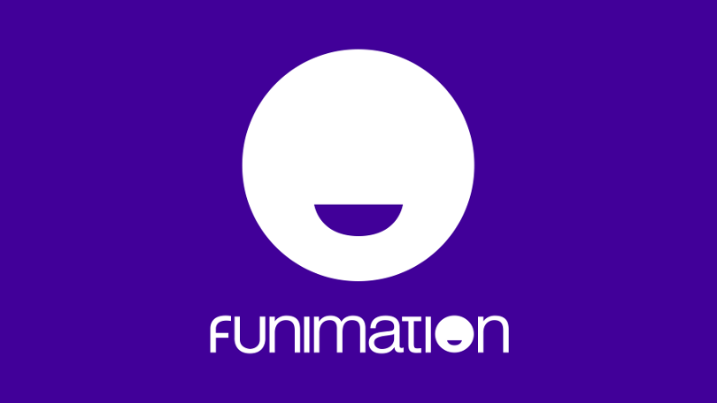 Funimation logo. Photo from Funimation.