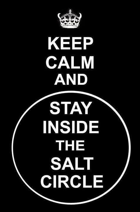 Epicstream Keep Calm And Stay Inside The Salt Circle