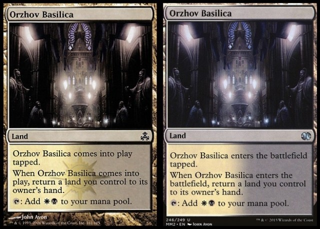 Epicstream When orzhov basilica enters the battlefield, return a land you control to its owner's hand. epicstream