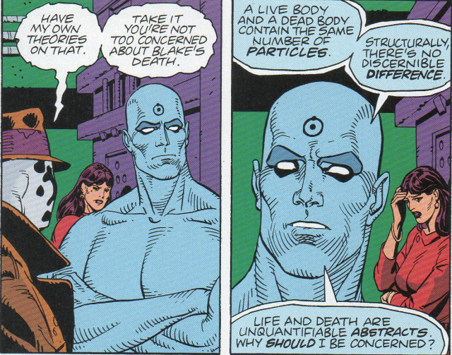 how to kill doctor manhattan