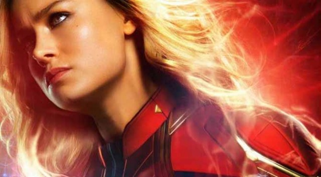 What happens in the end credits of 'Captain Marvel'