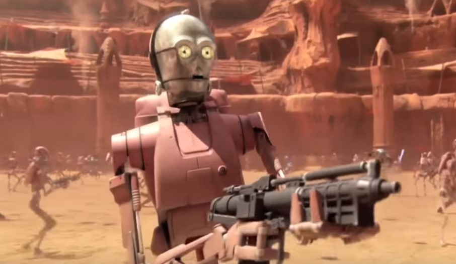 Image result for attack of the clones c 3po attack droid