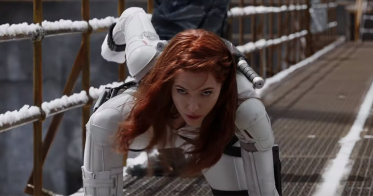 Marvel Fans Are Going Crazy Over Black Widow's White Suit ...