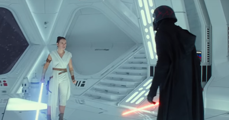 Star Wars Fans Outraged Over Rey And Kylo Ren Scene In The Rise Of Skywalker