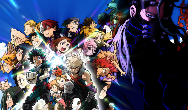 My Hero Academia Heroes Rising Gets First English Dub Trailer
