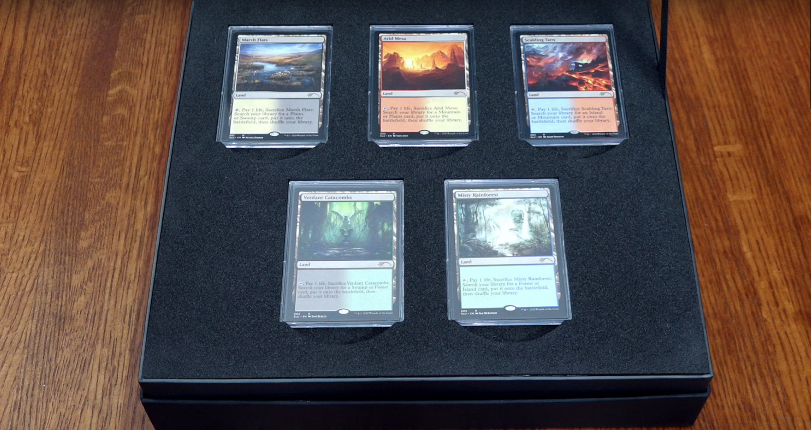 Fetch Lands magic: the gathering enemy fetchlands to be reprinted with