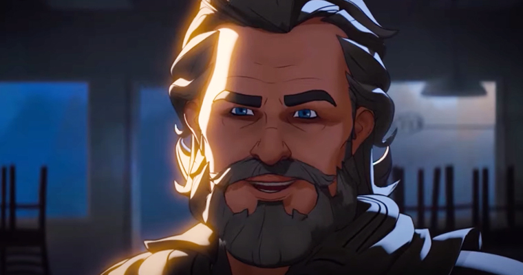 Kurt Russell as Ego in What If...? Episode 2