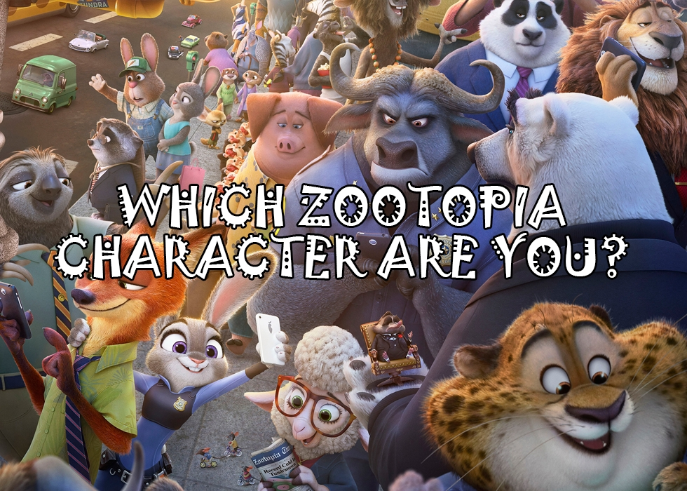 Which Zootopia Character Are You?